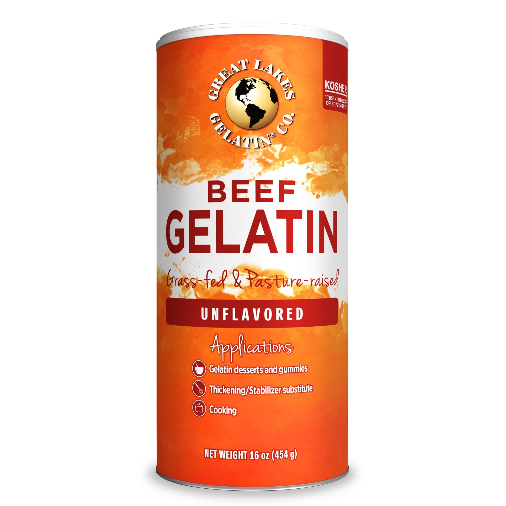 Želatina Great Lakes 454g