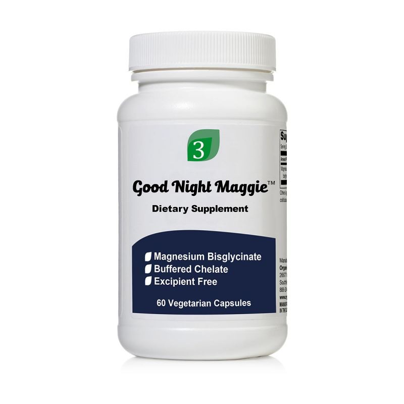 Good Night Maggie - hořčík bisglycinát 60 kapslí